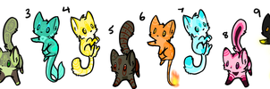 Cat elemental adopts CLOSED by MagisterAdopts