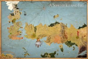 Map A Song of Ice and Fire - Sigils All Houses by Sjefke-04