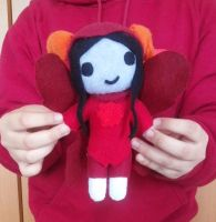 Plushtier Aradia by ChuraGhost