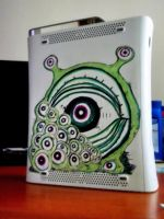 Xbox 360 - Mr. Eyeness by WithaMarker-In-Hand