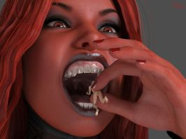 Demoness vore by Hangry-Female