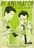Re-Animator Poster by SamRAW08