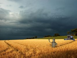 Bender in the field. by Alexandr-Us