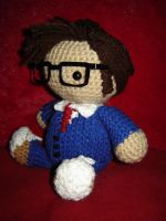 10th Doctor - side view by Ginger-PolitiCat