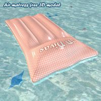 Air matress free 3D model by BubbleCloud