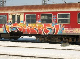 No graffiti,no party ! by scape-swc