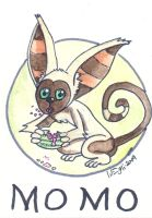 Momo Animal ACEO Avatar LAB by SurfTiki