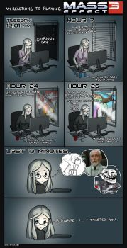 Mass Effect 3 Reactions *non-spoilery* by ghostfire