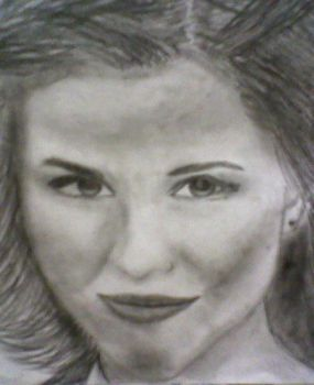 hollywood sweetheart on pencil by eiverirandall