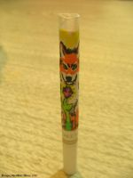 Orange Wolf Cigarette by Lorfis-Aniu