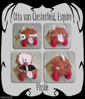 [Don't Starve] Chester Plushie by Miss-Twila