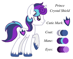 MLP:Prince Crystal Shield Profile by kiananuva12