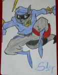 The one and only Sly Cooper by FanSlyCooper