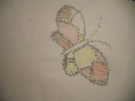 patchwork butterfly 2 by autumn2010