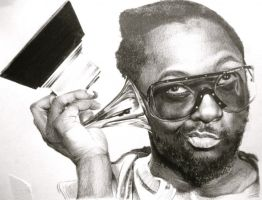 Will.i.am Portrait by ParaguayDraw