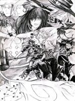 D. gray man by God-Given-25