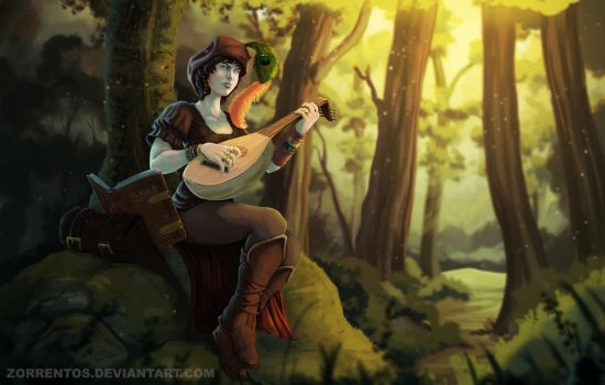 The bard by Zorrentos