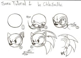 Sonic Tutorial 1 by ChibiEmiAlvi