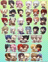 Food Munching page-dolls (Ultimate collection) by PencilCrown