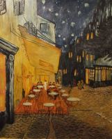 Van Gogh's Night Cafe by AnnaSulikowska