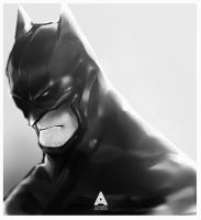[Superhero portraits] Batman by faruuk-sama