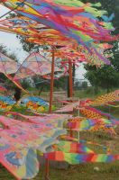 Rainbow Kites by JoharaT
