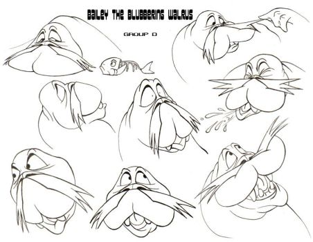 Bailey the Blubbering Walrus by JamminBison