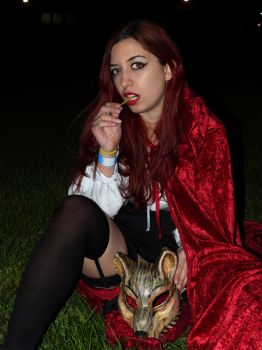 Red Riding Hood. by AlmostMedea