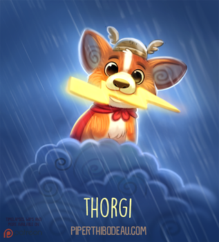 Daily Paint 1536. Thorgi by Cryptid-Creations
