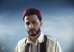 libyan traditional cloths by bakerGFXislamicDSner