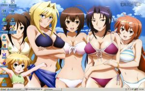 Sekirei Desktop by c-force