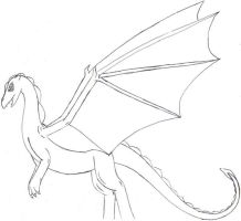 Pern Lineart by dragonrider292