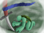 TMNT- how can i get up? by SugarUP