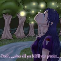 'Itachi...when will you.....' by VampirBlood