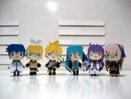Vocaloids by smilerobinson