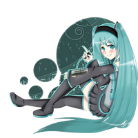 Miku by Sky-River