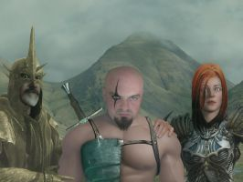Warriors by GaryRoswell007