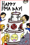 Happy FMA Day by CutenessMaximized