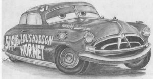 The Fabulous Hudson Hornet by yamihoole