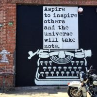 aspire and you will inspire by YOKOKY