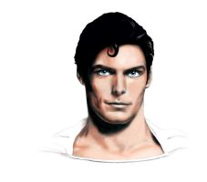 Christopher Reeve by daveydingdong