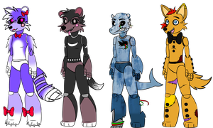 Five Nights at Freddy's Adoptables- Closed by FerociousApplesauce