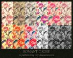 Patterns - Romantic Rose by coy-dreamer