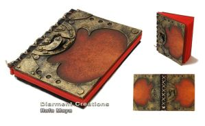 Steampunk Red Journal by Diarment