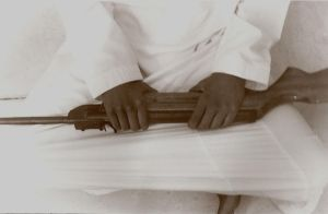 my fathers rifle.. by Artimise