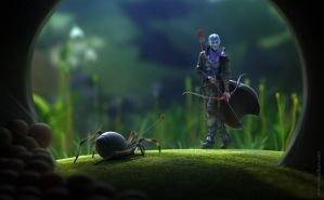 Spider hunter by veprikov