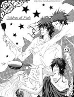 Tyki DGM +Noah Children+ by Yue-Iceseal