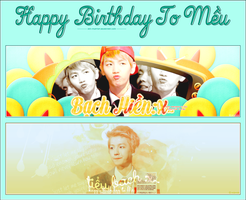 HAPPY BIRTHDAY TO MEU by IAM-MUPMIP