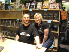 Fan Moment with Jim Butcher by Peaceofshine