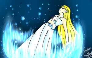 Collab with SRealms ~ Iku by Angelwing8